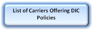List of Carriers Offering DIC Policies