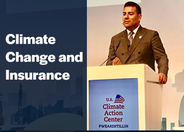 climate change and insurance information