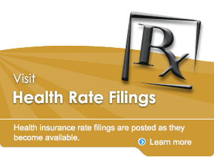 Health Rate Filings