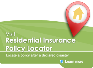 Residential Insurance Policy Locator