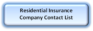 Residential Insurance Company Contact List