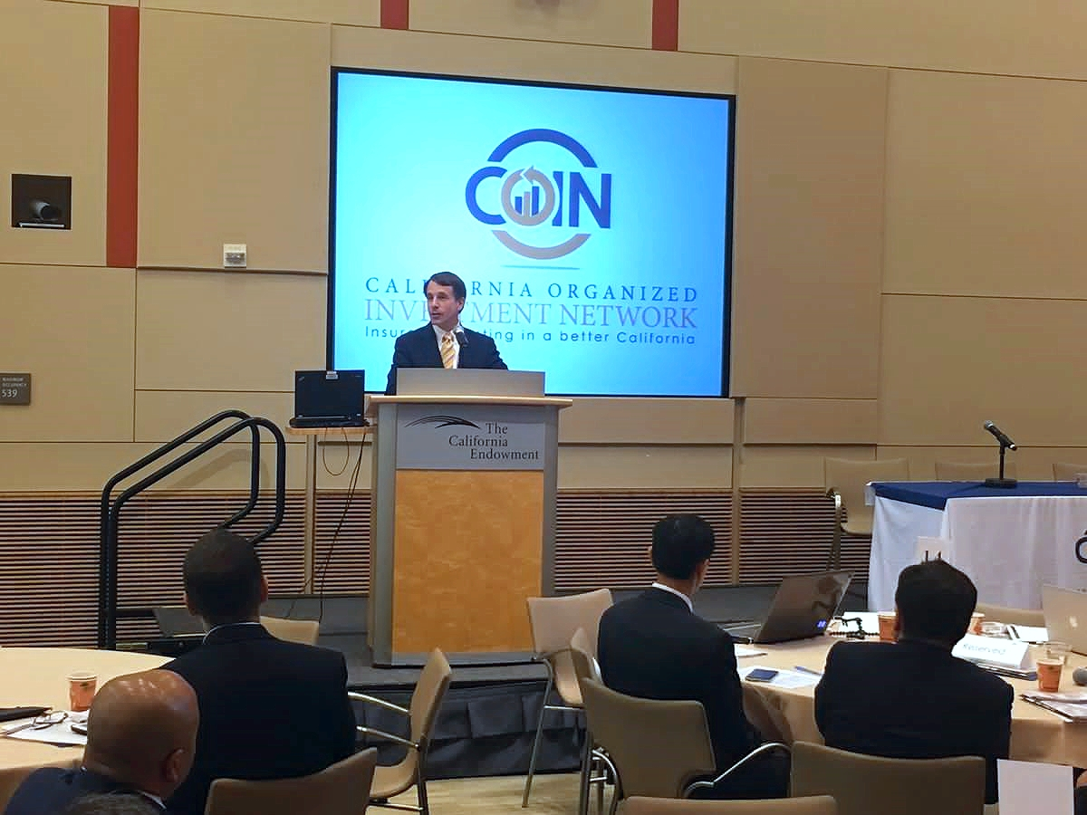CDJ at 2016 COIN summit