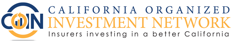 California Organized Investment Network - Insurers investing in a better California