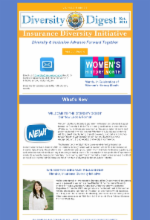 Diversity Digest Icon - Insurance Diversity Initiative Monthly Newsletter