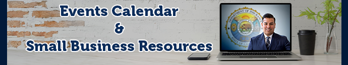 Small Business Tele Townhall Events Calendar and Resources
