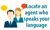 Agent Language Locator